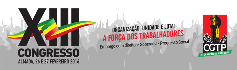 XIII Congresso CGTP-IN